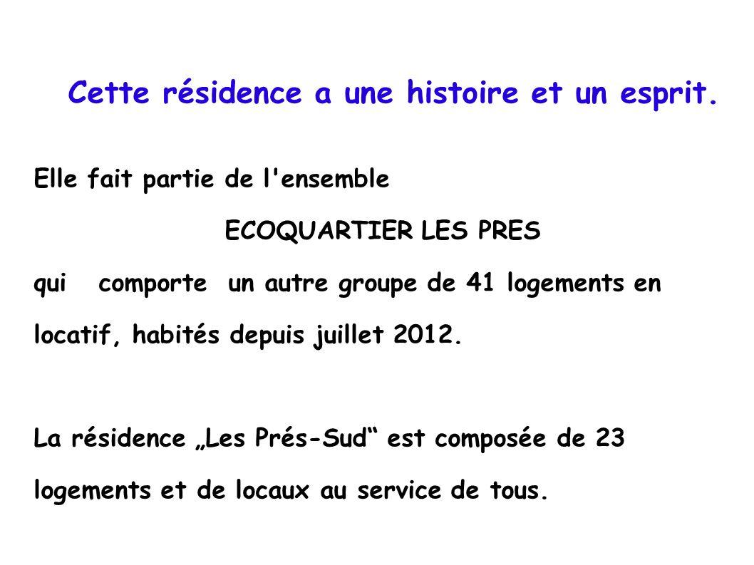 Disposition des lieux, plan sommaire.Bâtiment F : 3 étages- 15 logements Bât.