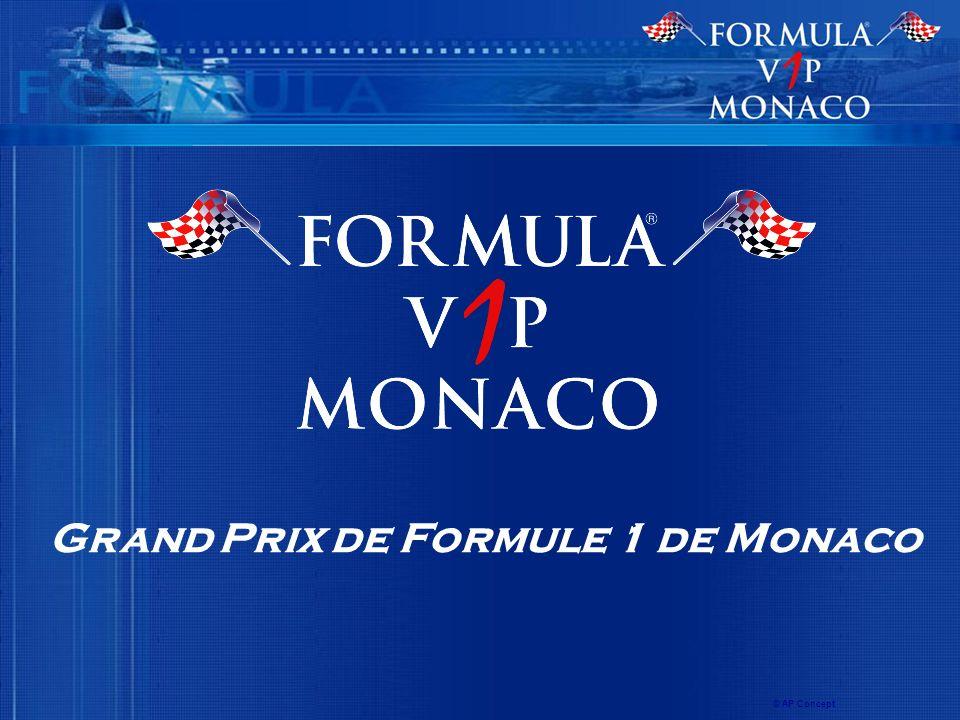 Grand Prix de Formule 1 de Monaco © AP Concept