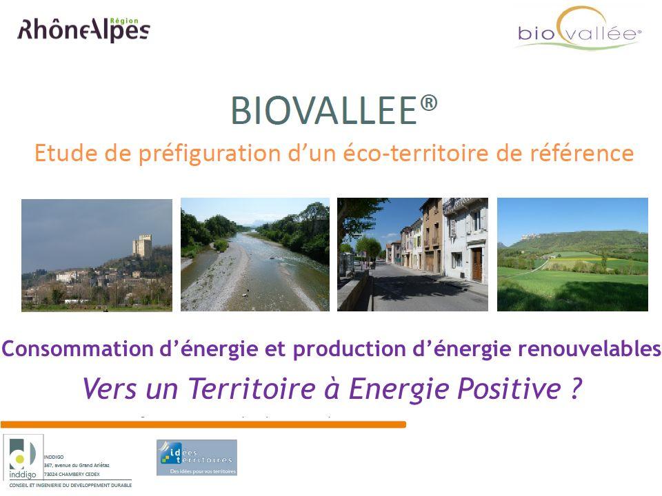 Consommation dénergie et production dénergie renouvelables Vers un Territoire à Energie Positive ?