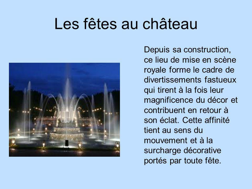 Qui habitait Versailles en premier.