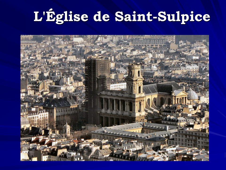 L'Église de Saint-Sulpice