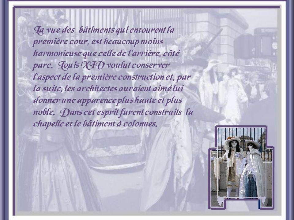 Décoration de la chambre de la Reine.