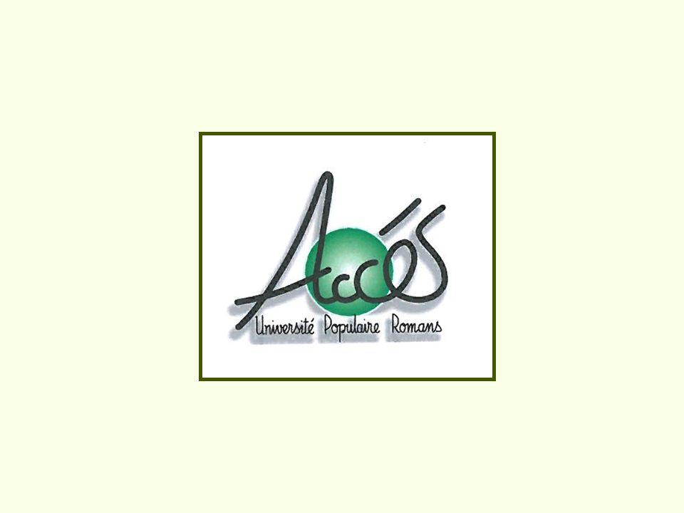 Différents apprentissages de base - Acquisition des compétences clés (ACC) - Contrat urbain de cohésion sociale (CUCS ) - La Ferme de Cocagne - Foyer appartement de Génissieux - Des «bénévolants» accompagnent les apprenants venant sans préconisation et sans financements.