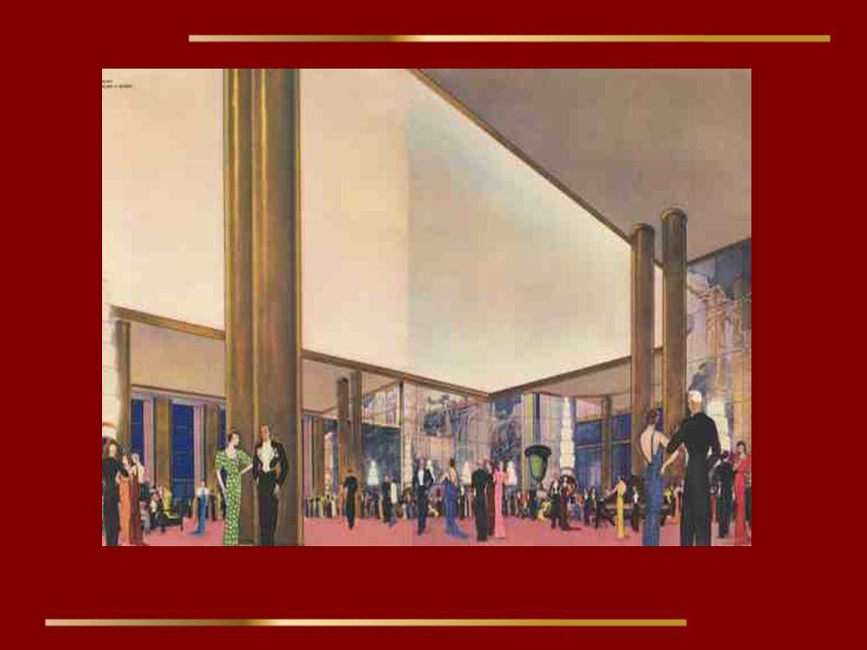 Le grand salon des premières classe.