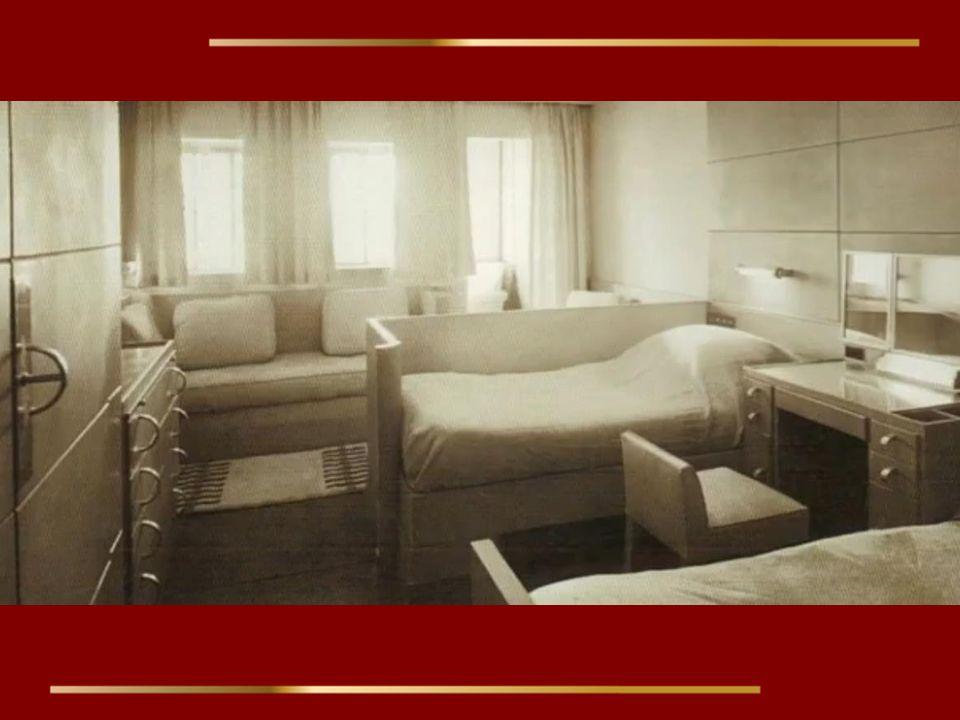 Chaque cabine était unique par sa décoration.
