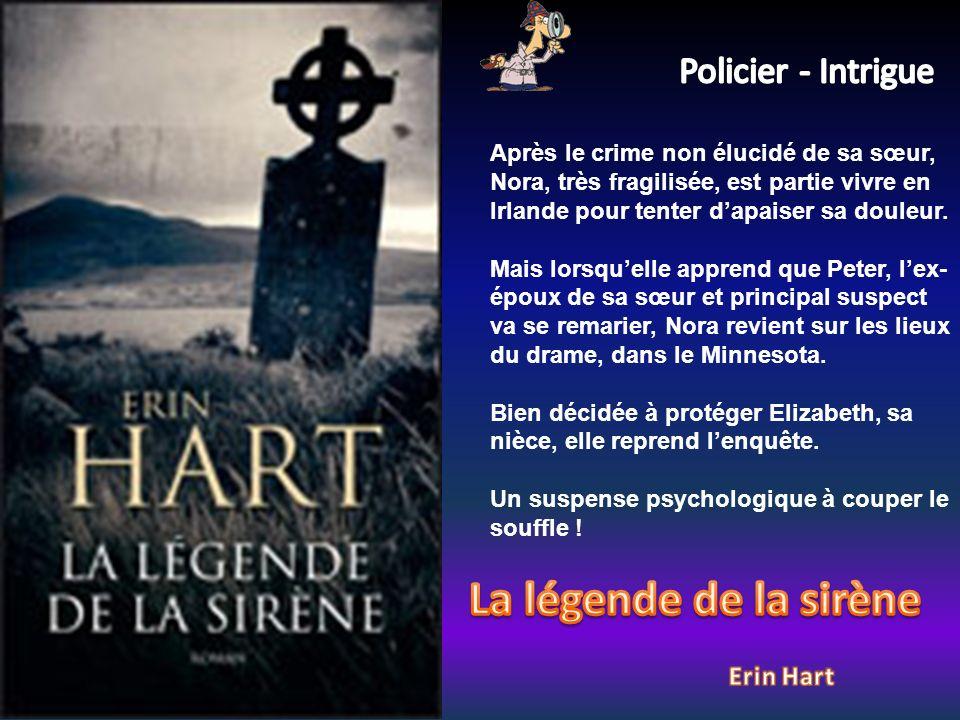 Après le crime non élucidé de sa sœur, Nora, très fragilisée, est partie vivre en Irlande pour tenter dapaiser sa douleur.
