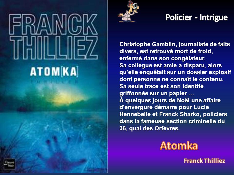 Christophe Gamblin, journaliste de faits divers, est retrouvé mort de froid, enfermé dans son congélateur.