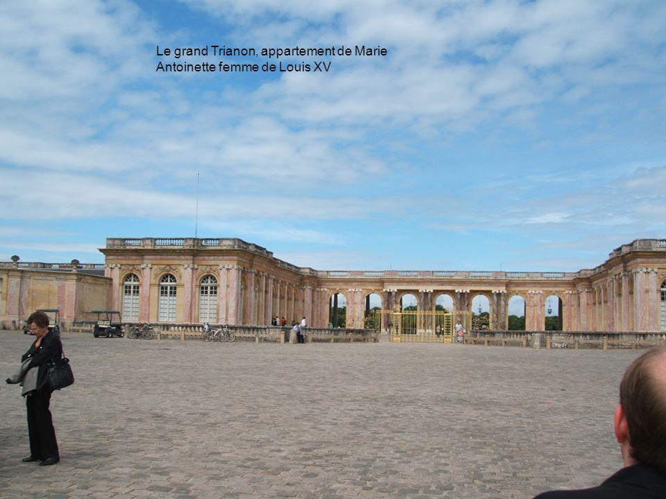 Lemire Tanguy19 Le grand Trianon, appartement de Marie Antoinette femme de Louis XV
