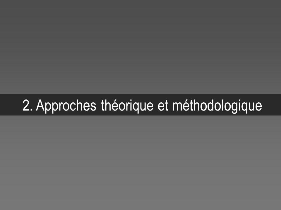 2. Approches théorique et méthodologique
