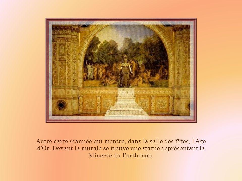 A létage se trouve une splendide salle nommée salle des fêtes, véritable temple de dorure, qui, au XIXe siècle fut réaménagée par le duc Honoré Théodoric dAlbert de Luyne, numismate et archéologue.
