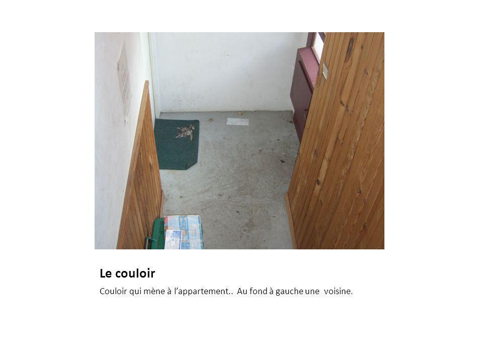 Suite du couloir Lappartement est au premier étage.