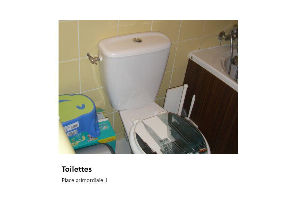 Toilettes Place primordiale !