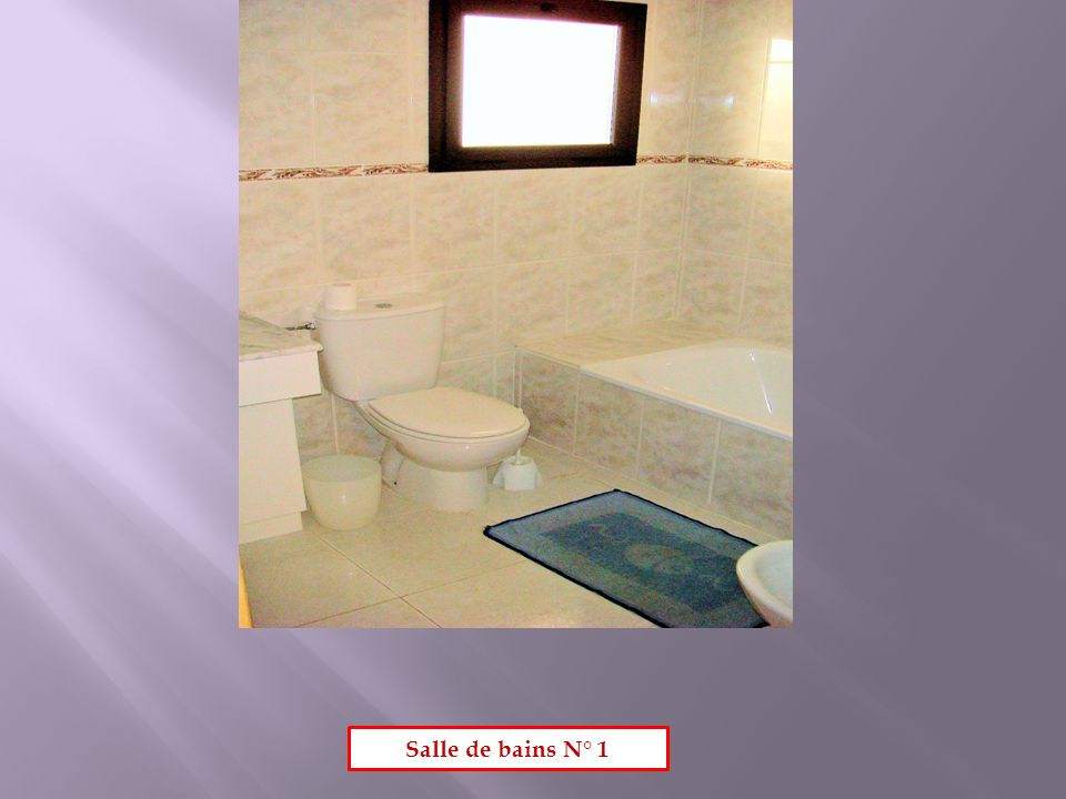 Salle de bains N° 1