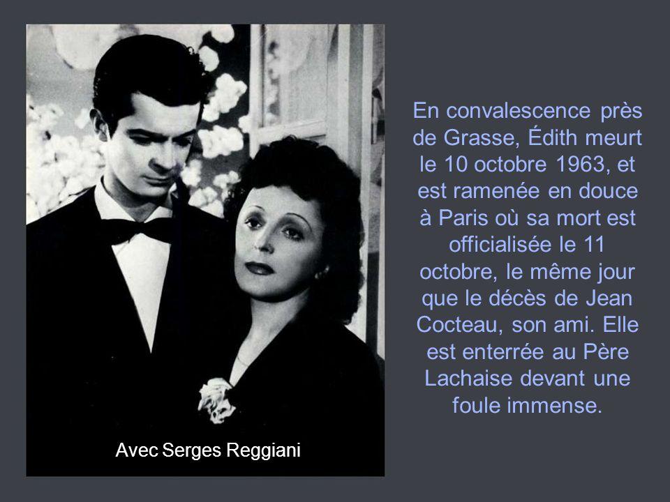Avec Charles Aznavour Des auteurs de talent se succèdent pour lui écrire des chansons (Francis Lai, Charles Aznavour, Charles Dumont, etc.) et elle tombe amoureuse d un certain Theophanis Lamboukas, dit Théo Sarapo, qu elle épouse le 9 octobre 1962 à Paris.