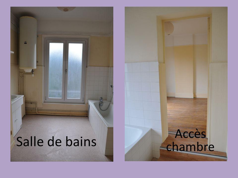Salle de bains Accès chambre