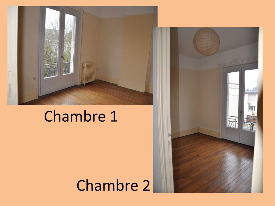 Chambre 1 Chambre 2