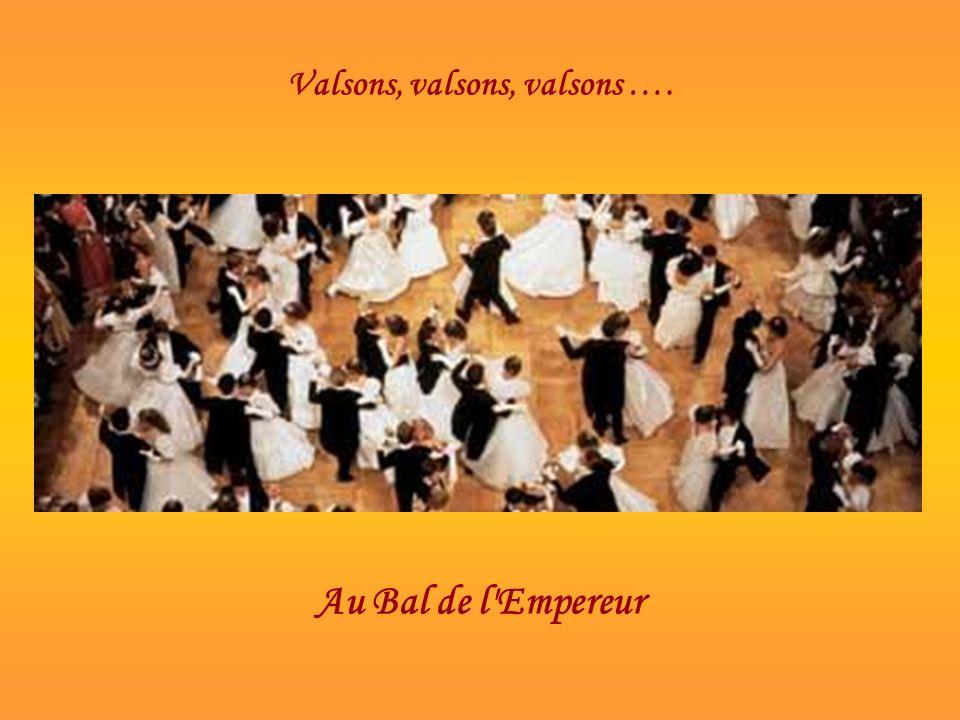A l'entrée du Bal de l'Empereur