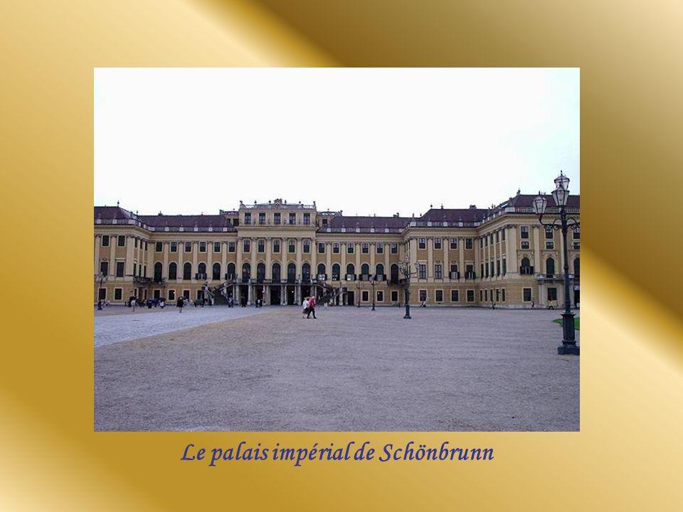 Le palais impérial de Schönbrunn