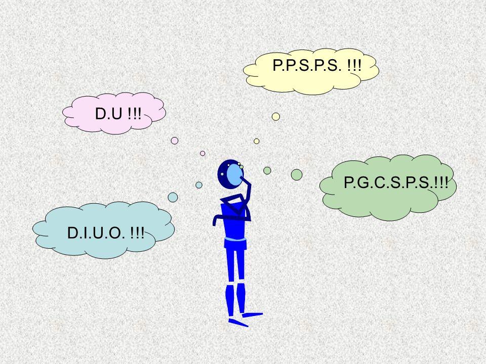 EMPLOYES AtelierChantier D U 1 entreprise Plusieurs entreprises simultanément PGCSPS PPSPS simpleNiveau 3Niveau 2Niveau 1 DIUO