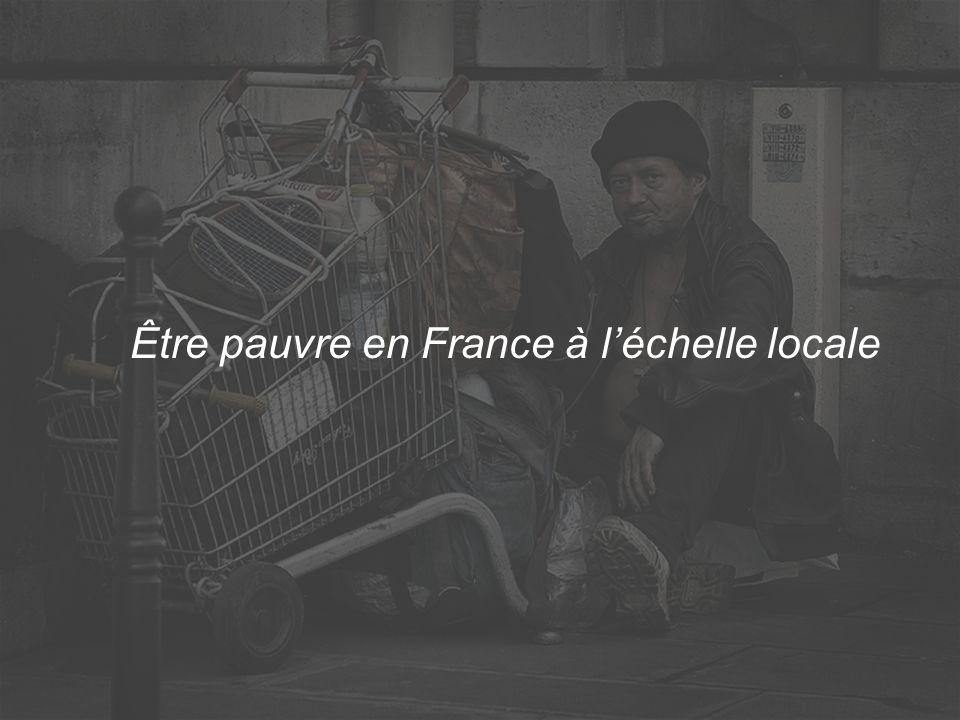Être pauvre en France à léchelle locale