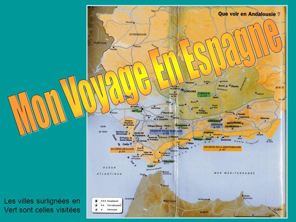 Jeudi 23 août :Visite de Malaga