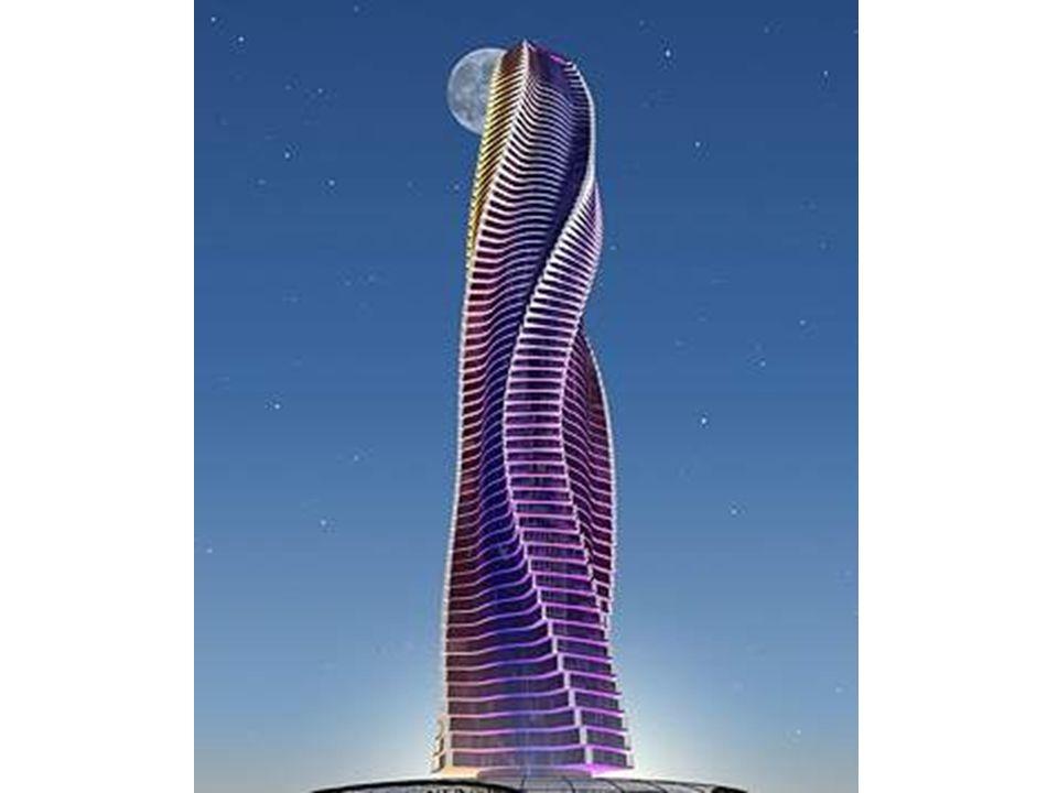 La tour pivotante de Moscou sera un nouveau symbole de la ville. Identique dans sa conception, elle aura un style différent de sa sœur de Dubaï. Haute