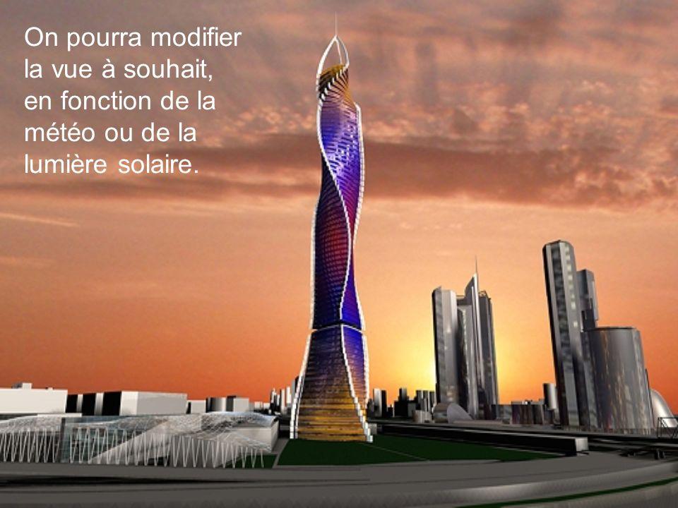 Appelée «architecture dynamique», cette forme de construction est en constante évolution. Chaque étage est indépendant des autres et tourne sur lui-mê