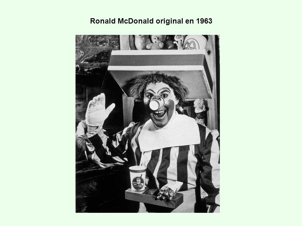 Ronald McDonald original en 1963