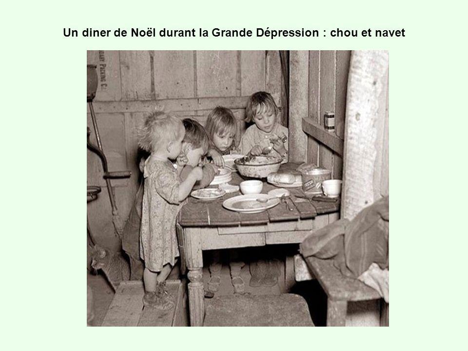 Un diner de Noël durant la Grande Dépression : chou et navet