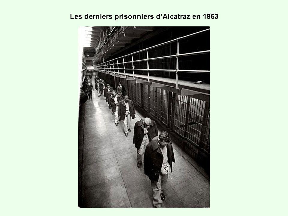 Les derniers prisonniers dAlcatraz en 1963
