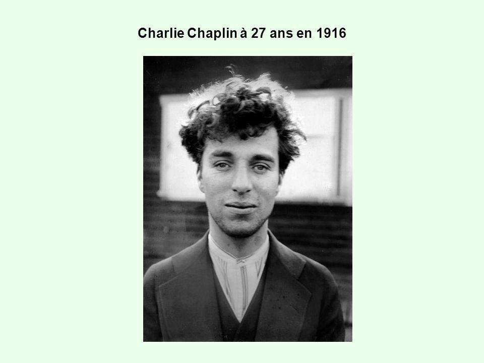 Charlie Chaplin à 27 ans en 1916
