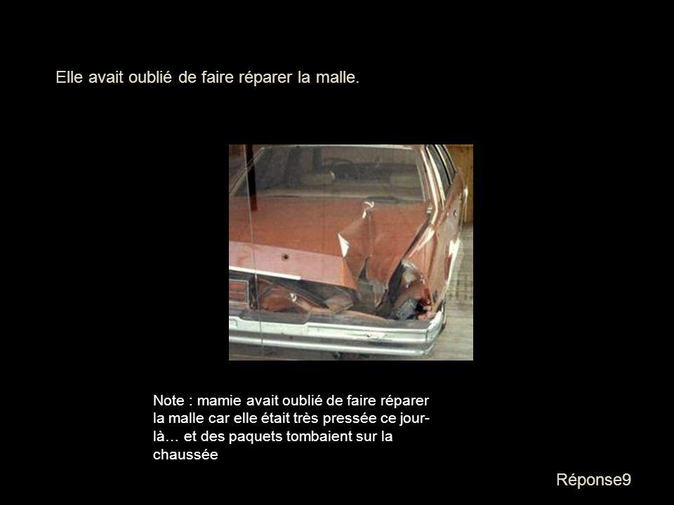 Question9 Sur la Promenade des Anglais en 1966, mamie a été arrêtée par la police. Pourquoi ? - Elle se baladait en bikini - Elle avait oublié de fair