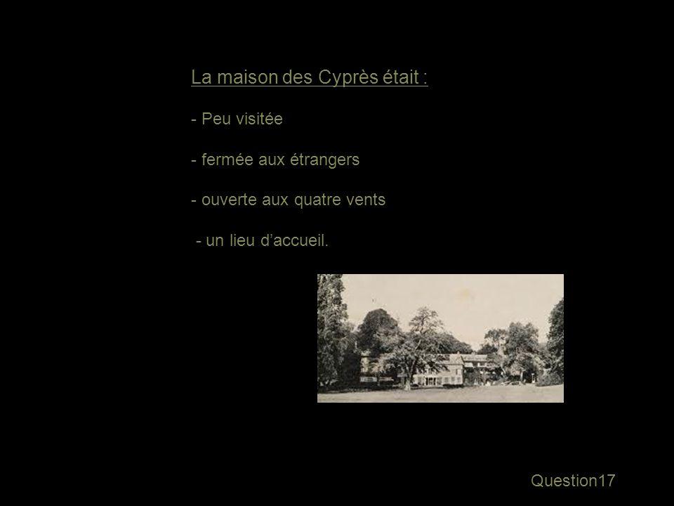 Réponse16 Les serpents… Note … les petites couleuvres qui se glissaient près de la maison des Cyprès, vers Aix…
