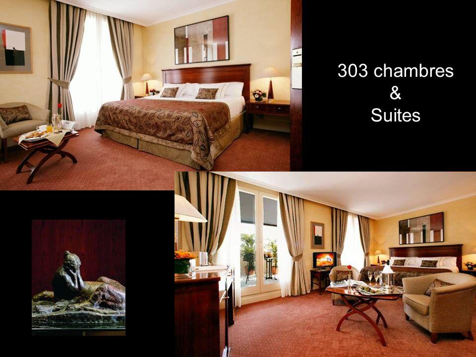 303 chambres & Suites