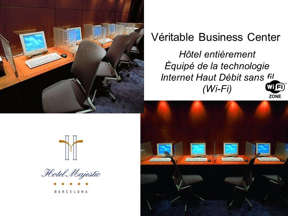 Véritable Business Center Hôtel entièrement Équipé de la technologie Internet Haut Débit sans fil (Wi-Fi)