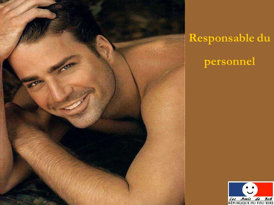 Responsable du personnel