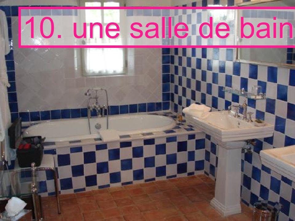 10. une salle de bain