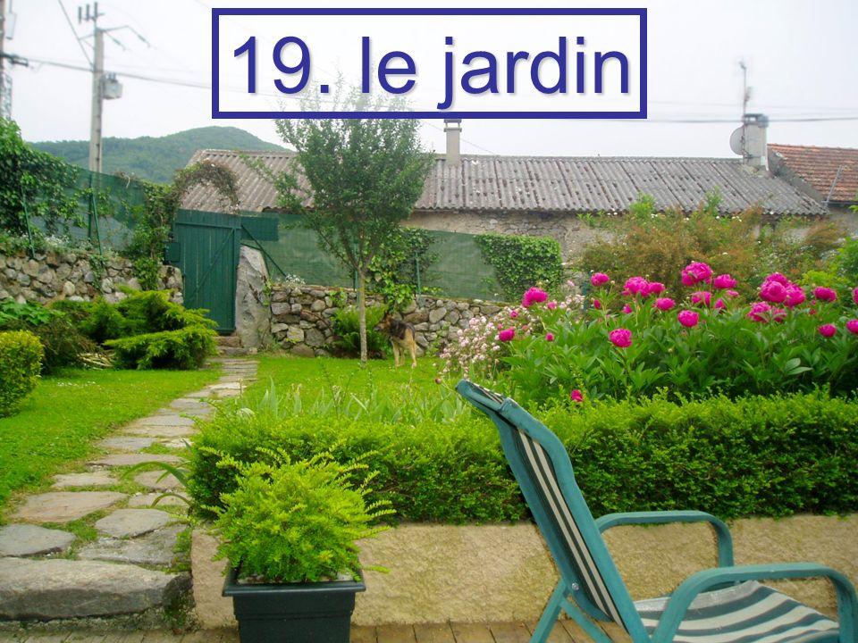 19. le jardin
