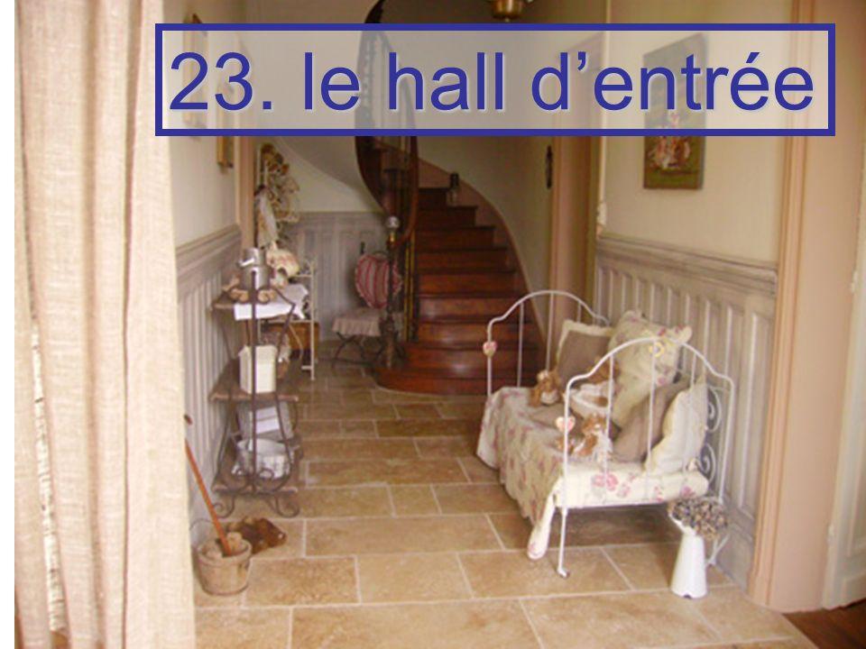 23. le hall dentrée