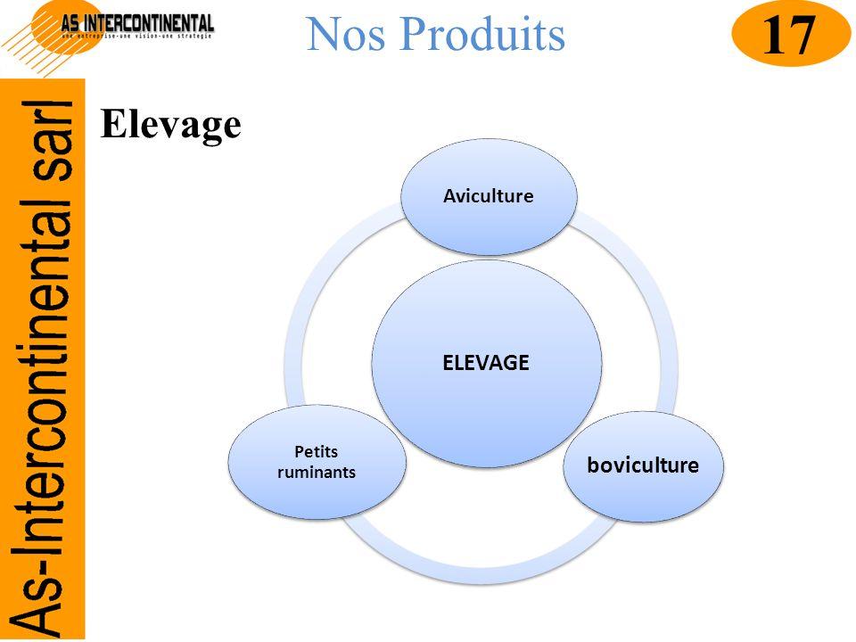 Nos Produits ELEVAGE Aviculture boviculture Petits ruminants Elevage 17