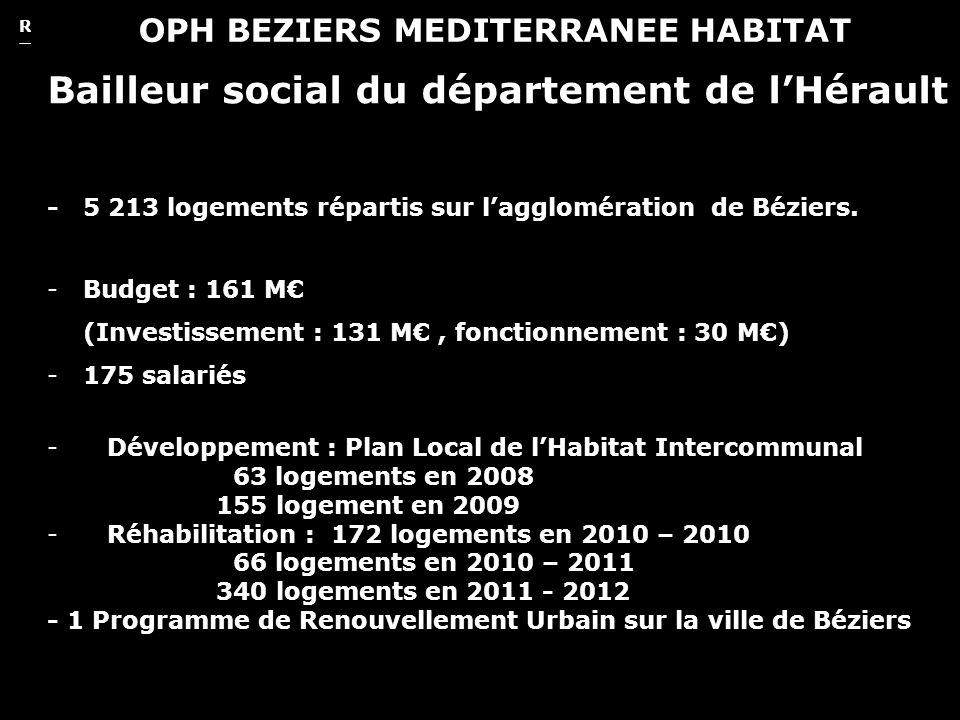 Oliver Seidel. architecte REHABILITATION DE LA TOUR DE LA GAYONNE 2 OPH BEZIERS MEDITERRANEE HABITAT Bailleur social du département de lHérault - 5 21