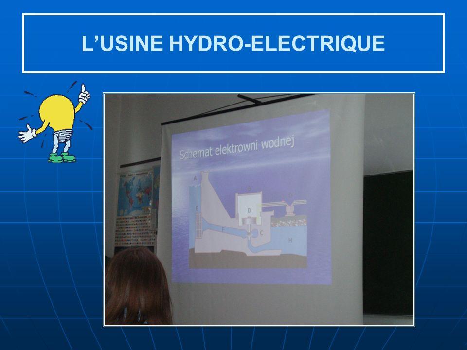 LUSINE HYDRO-ELECTRIQUE