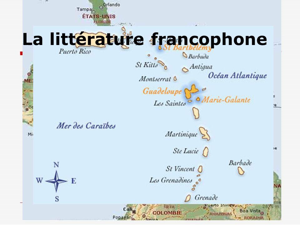 La littérature francophone