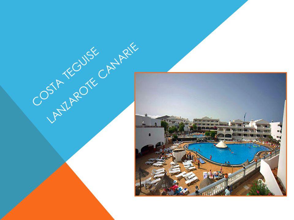 Complexe touristique de 260 Appartements a quelques mètres de la fameuse plage de Las Cucharas à Costa Teguise.