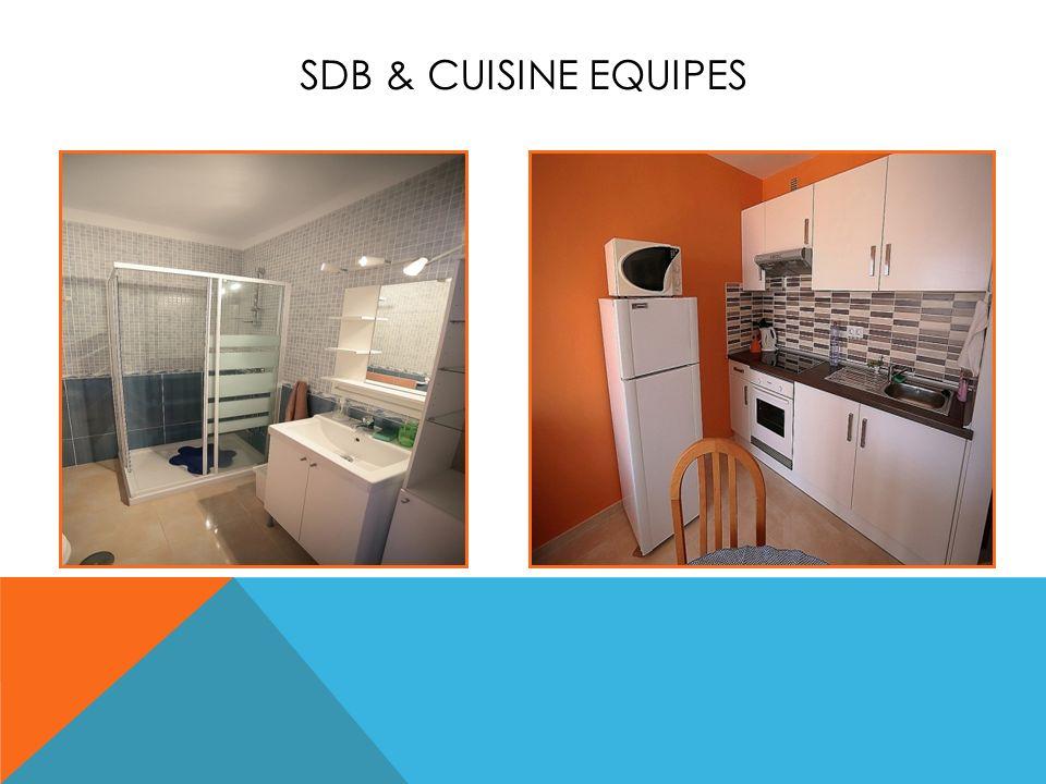 SDB & CUISINE EQUIPES