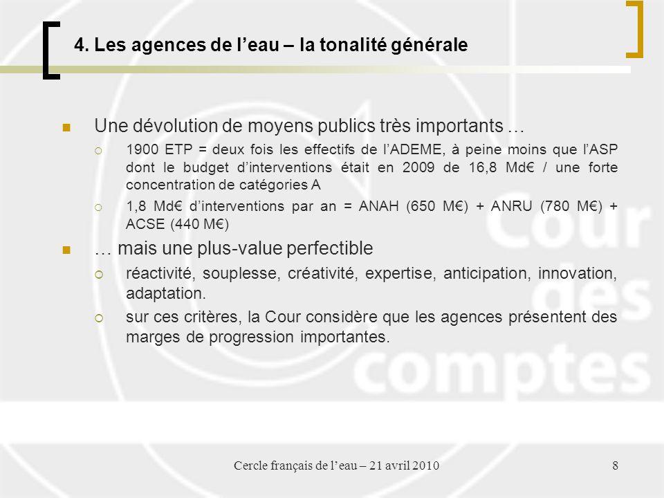 Cercle français de leau – 21 avril 20108 4.