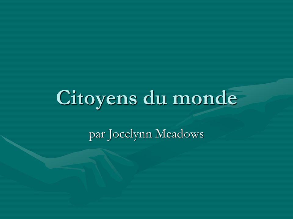 Citoyens du monde par Jocelynn Meadows
