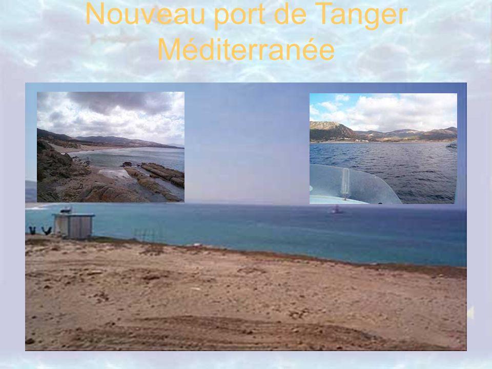 Nouveau port de Tanger Méditerranée