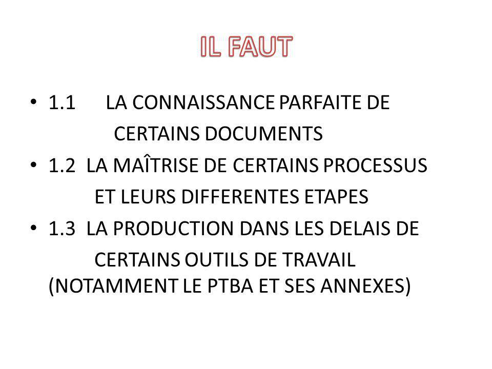 CES DOCUMENTS SONT LE RAPPORT DE PREEVALUATION (RPE).