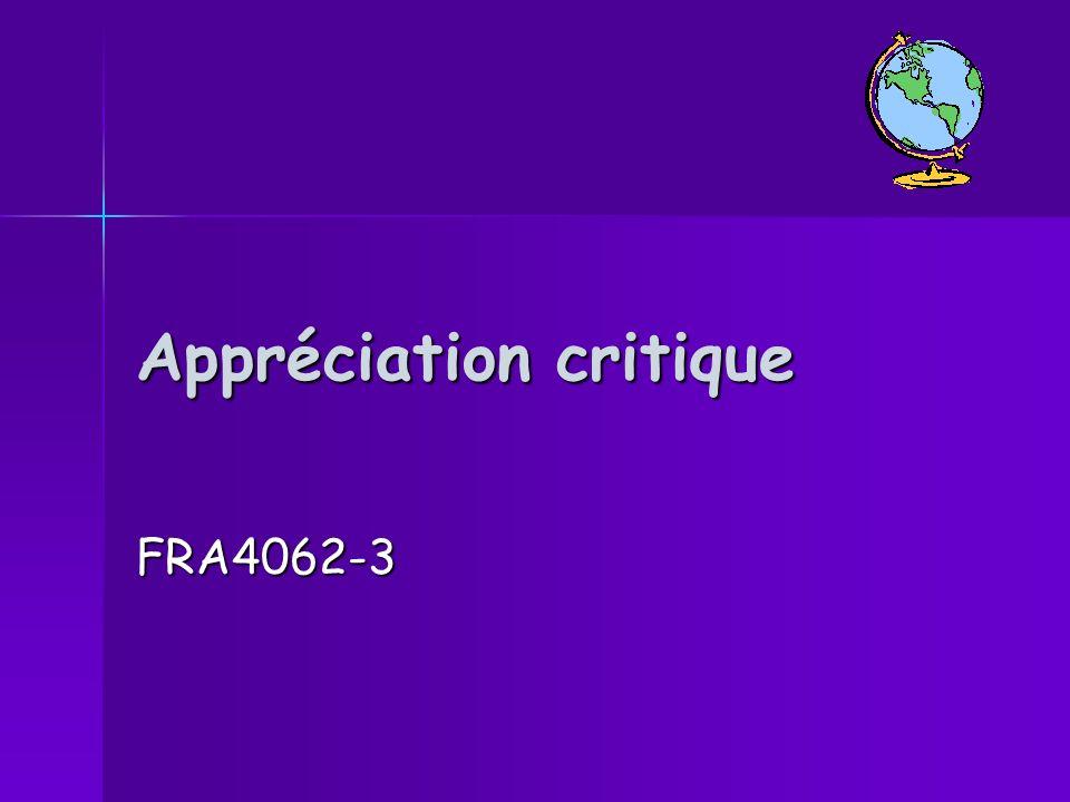 Appréciation critique FRA4062-3